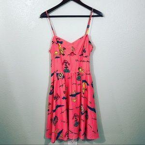 L'amour Nanette Lepore Adventurer Peplum Dress